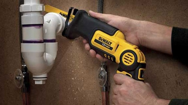 reciprocating saw for plumbing
