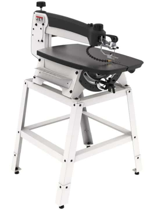 JET JWSS 22-inch Scroll Saw with Stand and Foot Switch