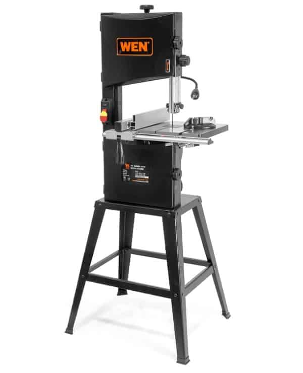 WEN 3962 10″ Two-Speed Band Saw with Stand and Worklight